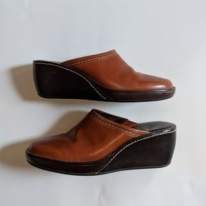 Cole Haan Leather Mule Clogs Size 9
